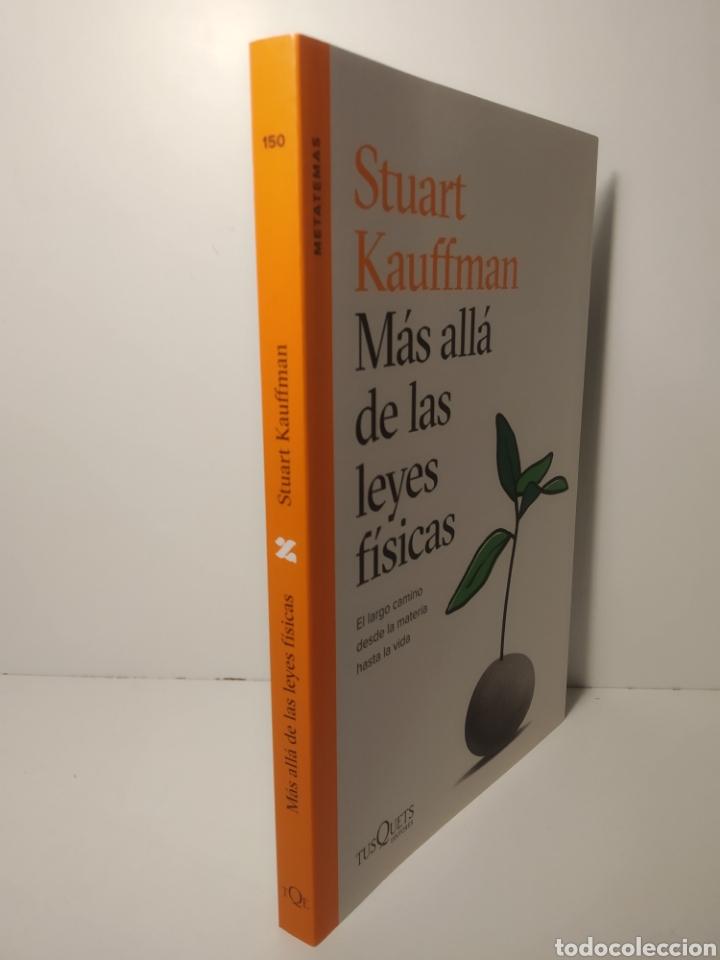 Libros: Más allá de las leyes físicas El largo camino desde la materia hasta la vida Stuart Kauffman - Foto 2 - 286755078