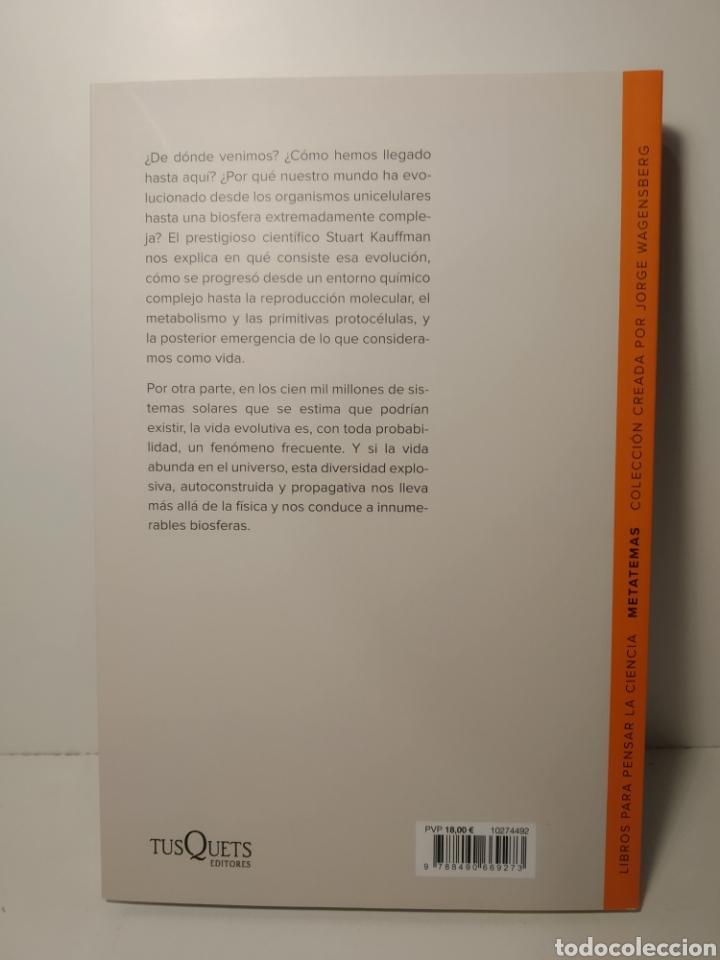 Libros: Más allá de las leyes físicas El largo camino desde la materia hasta la vida Stuart Kauffman - Foto 3 - 286755078