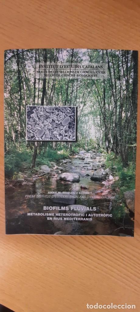BIOFILMS FLUVIALS. (Libros Nuevos - Ciencias Manuales y Oficios - Ciencias Naturales)