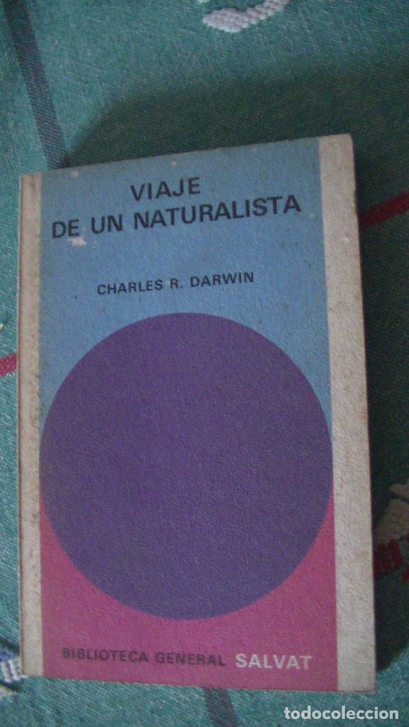 VIAJE DE UN NATURALISTA DARWIN EDITORIAL: SALVAT., 1972 (Libros Nuevos - Ciencias Manuales y Oficios - Ciencias Naturales)