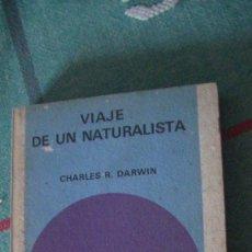 Libros: VIAJE DE UN NATURALISTA DARWIN EDITORIAL: SALVAT., 1972. Lote 288008233