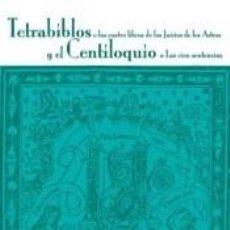 Libros: TETRABIBLOS. Lote 289830183