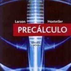 Libros: PRECÁLCULO. Lote 294131953