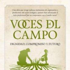 Libros: VOCES DEL CAMPO. MARI CARMEN ALVARE. Lote 294843593
