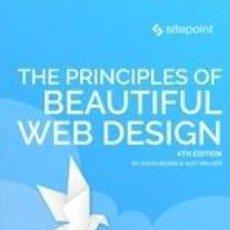 Libros: THE PRINCIPLES OF BEAUTIFUL WEB DESIGN. Lote 295018073