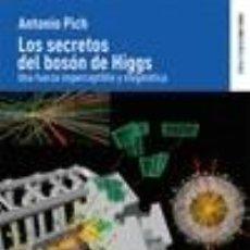 Libros: LOS SECRETOS DEL BOSÓN DE HIGGS. Lote 295744418