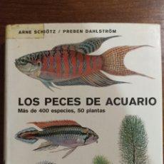 Libros: LOS PECES DE ACUARIO. Lote 296012158