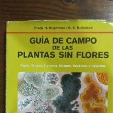 Libros: GUÍA DE CAMPO DE LAS PLANTAS SIN FLORES. Lote 296019113