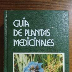 Libros: GUÍA DE PLANTAS MEDICINALES. Lote 296024898