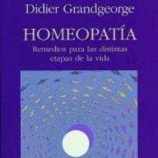 Libros: HOMEOPATÍA. Lote 296614008