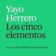 Libros: LOS CINCO ELEMENTOS. Lote 296855793