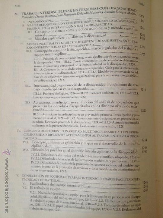 Libros: PERSONAS CON DISCAPACIDAD. PERSPECTIVAS PSICOPEDAGOGICAS Y REHABILITADORAS. MIGUEL A. VERDUGO ALONSO - Foto 18 - 47999975