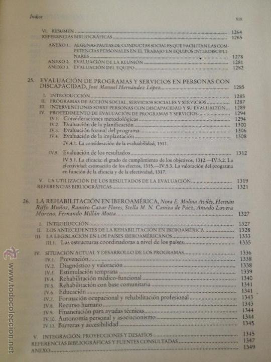 Libros: PERSONAS CON DISCAPACIDAD. PERSPECTIVAS PSICOPEDAGOGICAS Y REHABILITADORAS. MIGUEL A. VERDUGO ALONSO - Foto 19 - 47999975