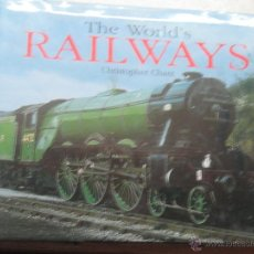 Libros: THE WORLD'S RAINWAYS CHRISTOPHER CHANT EDIT JOHN MOORE AÑO 2001. Lote 48071620