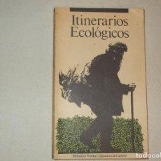 Libros: ITINERARIOS ECOLOGICOS, CASTELLON 1985. Lote 62331220