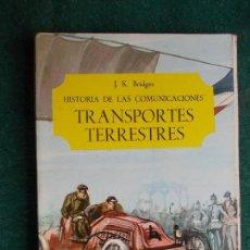 Libros: TRASPORTES TERRESTRES. Lote 84899496