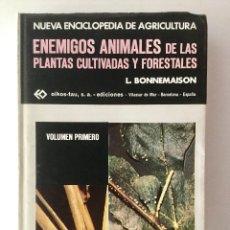 Libros: ENEMIGOS DE LAS PLANTAS CULTIVADAS Y FORESTALES. 3 VOLÚMENES. Lote 86111084