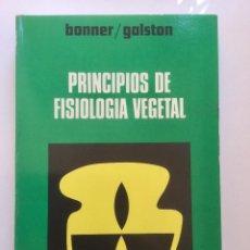 Principios de fisiología vegetal.
