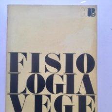 Livros: FISIOLOGÍA VEGETAL. BLUME. Lote 92049910