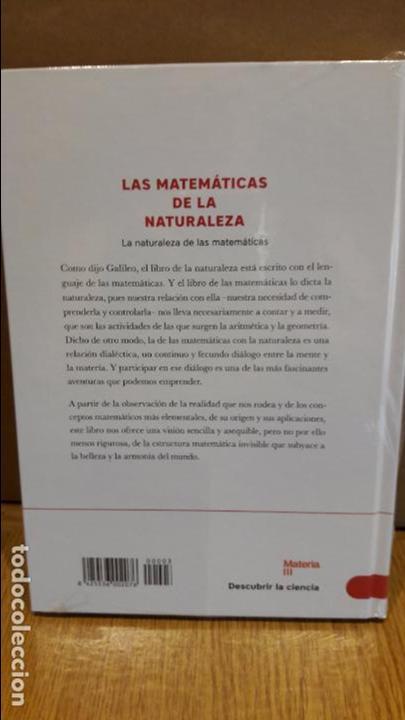 Libros: DESCUBRIR LA CIENCIA Nº 7 / LAS MATEMÁTICAS DE LA NATURALEZA / CARLO FRABETTI. / PRECINTADO. - Foto 2 - 227006977