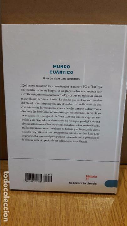 Libros: DESCUBRIR LA CIENCIA Nº 3 / MUNDO CUÁNTICO / RAFAEL ANDRÉS ALEMAÑ BERENGUER. / PRECINTADO. - Foto 2 - 174536723