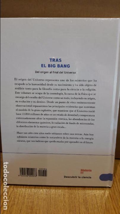 Libros: DESCUBRIR LA CIENCIA Nº 2 / TRAS EL BIG BANG / ALBERTO FERNÁNDEZ SOTO / PRECINTADO. - Foto 2 - 174539935