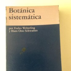 Libros: BOTANICA SISTEMÁTICA.. Lote 95093167