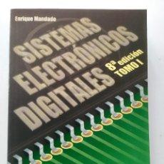 Libros: SISTEMAS ELECTRÓNICOS DIGITALES. 8A. EDICION. Lote 95183223
