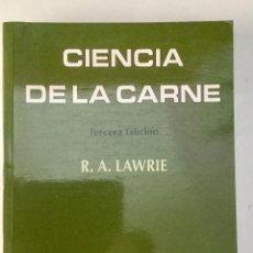 Libros: CIENCIA DE LA CARNE. . Lote 95188855