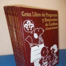 Libros: GRAN LIBRO DE PREGUNTAS Y RESPUESTASDE CARLITOS ( 6 TOMOS ) - GRIJALBO 1984 -. Lote 95316215