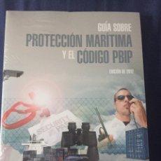 Libros: GUIA SOBRE PROTECCION MARITIMA. Lote 95425848