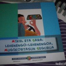 Libros: MIKEL ETA SARA. Lote 100525059