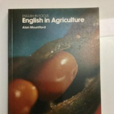 Libros: INGLÉS EN AGRICULTURA. ENGLISH IN AGRICULTURE. OXFORD UNIVERSITY PRESS.. Lote 100530479