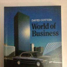 Libros: INGLÉS. MUNDO DE LOS NEGOCIOS (WORLD OF BUSINESS) BELL & HYMAN.. Lote 100531403