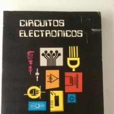 Libros: CIRCUITOS ELECTRÓNICOS 1. ANALÓGICOS 1. E.T.S.I. TELECOMUNICACIÓN MADRID.. Lote 100627939