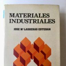 Libros: MATERIALES INDUSTRIALES. CEDER.. Lote 100738455