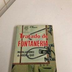 Libros: FONTANERO, CONOCIMIENTOS. Lote 103778507
