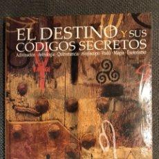 Libros: EL DESTINO Y SUS CODIGOS SECRETOS. (LIBRO NUEVO). Lote 105369235