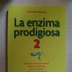 Libros: LA ENZIMA PRODIGIOSA 2. HIROMI SHINYA. PRIMERA EDICIÓN. AGUILAR. . Lote 107656787