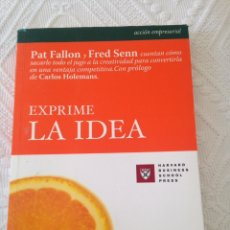 Libros: EXPRIME LA EXPERIENCIA. Lote 108409438