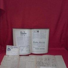 Libros: ANTIGUO LIBRO (RADIOS DE VÁLVULAS 1935). Lote 111787963