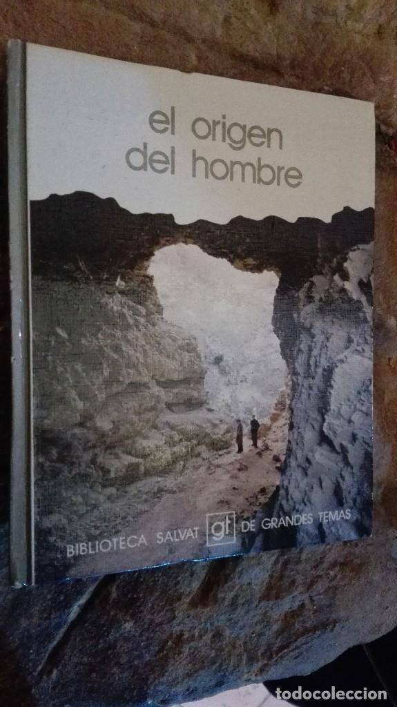 EL ORIGEN DEL HOMBRE BIBLIOTECA SALVAT GT DE GRANDES TEMAS (Libros Nuevos - Ciencias, Manuales y Oficios - Otros)
