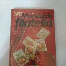 Libros: MANUAL DE FILATELIA DE ALEJANDRO FÁBREGAS ELIZONDO. SIN ESTRENAR.. Lote 112544010