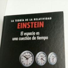 Libros: LA TEORÍA DE LA RELATIVIDAD, EINSTEIN, DE DAVID BLANCO LASERNA.. Lote 112871995