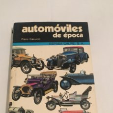 Libros: LIBRO AUTOMÓVILES DE ÉPOCA. Lote 114476546