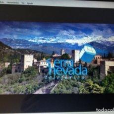 Libros: PROYECTO DEL TELEFÉRICO A SIERRA NEVADA DESDE GRANADA DISTANCIA 19 KM CON CD PRESENTACIÓN. Lote 116754695