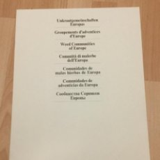 Livros: COMUNIDADES DE MALAS HIERBAS DE EUROPA. CIBA-GEIGY.. Lote 117650879