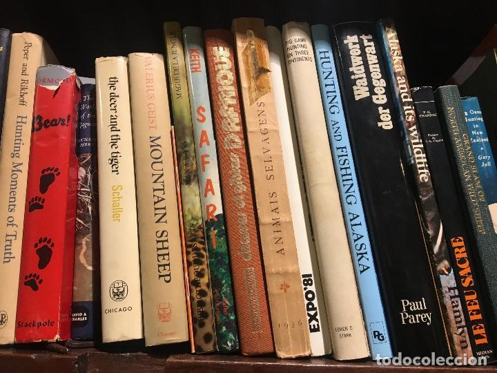 Lote De Libros De Caza En Distintos Idiomas Hun