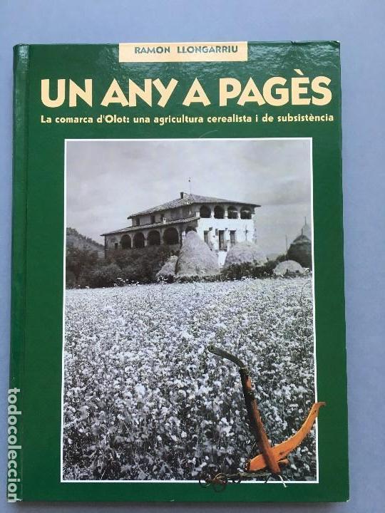 UN ANY A PAGÈS DE RAMON LLONGARRIU. LIBRO EN CATALAN DE LA EDITORA LLIBRES DE BATET. (Libros Nuevos - Ciencias, Manuales y Oficios - Otros)