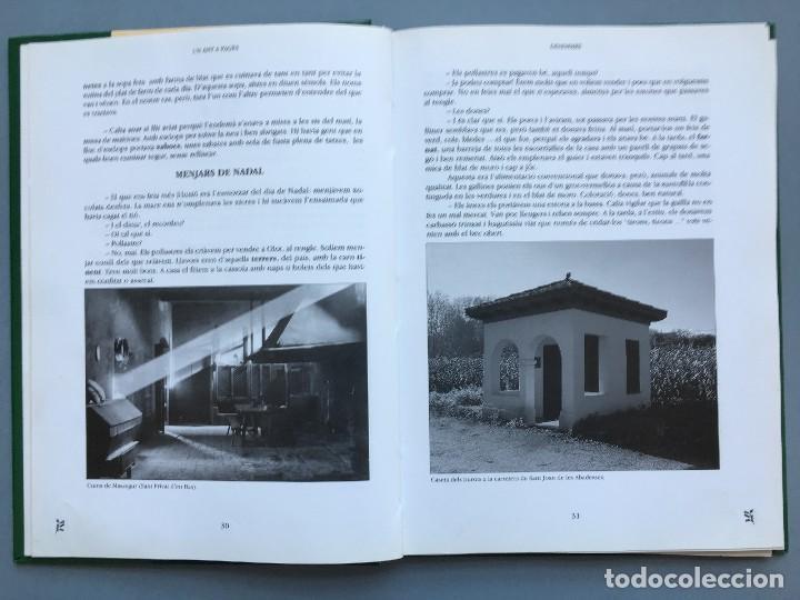 Libros: UN ANY A PAGÈS DE RAMON LLONGARRIU. LIBRO EN CATALAN DE LA EDITORA LLIBRES DE BATET. - Foto 3 - 120616007